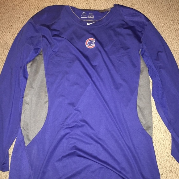 best website d02eb 80bda CHICAGO CUBS NIKE PRO COMBAT SHIRT 2XL